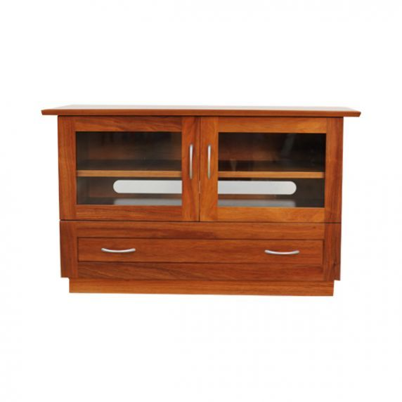 ROSEMOUNT TV CABINET    Compact AV cabinet featuring one large drawer under component section
