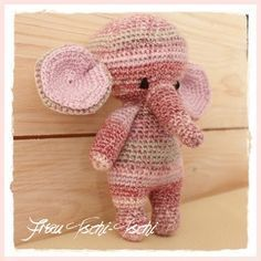 Amigurumi Elefant – kostenlose Anleitung häkeln – Häkelnanleitung – elephant – crochet pattern free