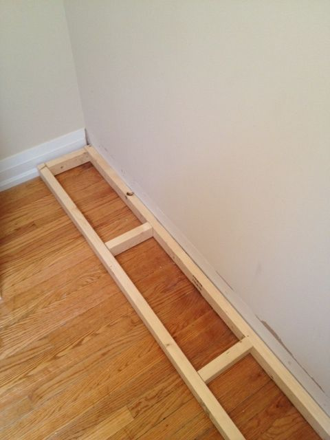 From Billy to Built-Ins 2x3 pine base for units