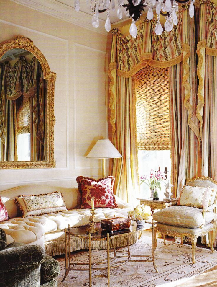 Tasteful Extravagance Tasteful Extravagance Lush Drapes, Rich Fabrics, And  Gilded Furniture Are All Marks Of A Country French Room.