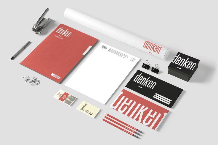 Denken - Branding - Stationary - Business Cards