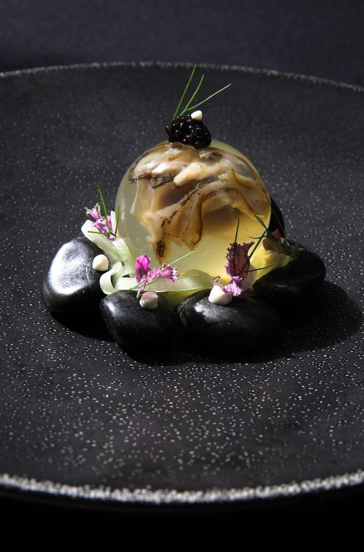 L'art dans vos assiettes : Venez dresser vos assiettes comme un chef ! Oyster//champagne//caviar