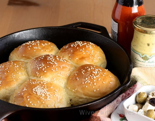 Nana's Small Batch Buttery Buns | Wives with Knives (makes 6)