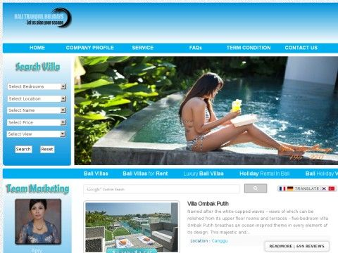 balitranquilholidays.com Review