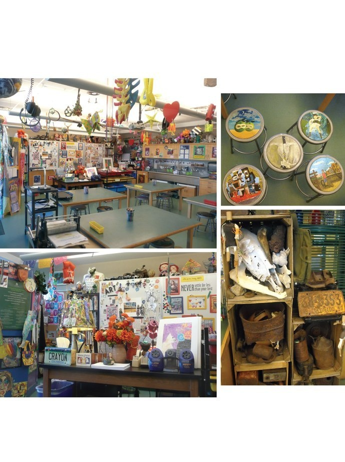 THIS is an amazing art room. Featured in may/June School Arts.