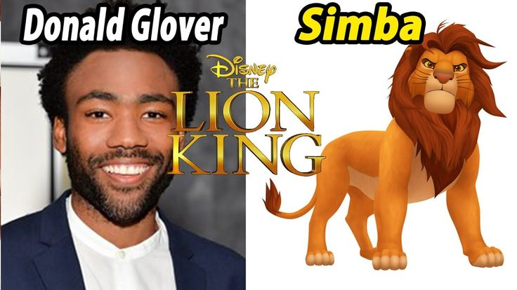 Disney channel The Lion King 2019 Characters and behind the voice