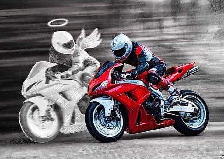 Открытка, прикольные картинки про мотоциклы
