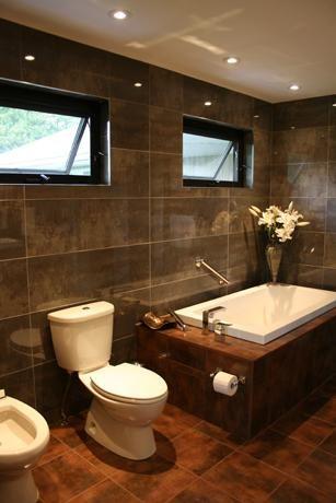 Annan Modern Bathroom Renovation by Van Dolder's Kitchen & Bath
