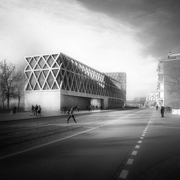 Neubau für Naturhistorisches Museum und Staatsarchiv - EM2N gewinnen Wettbewerb in Basel