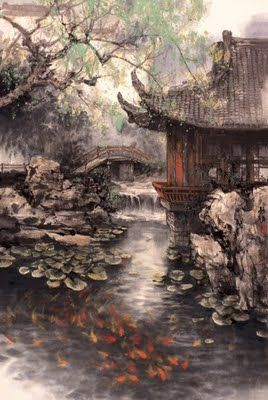 Zhao Wuchao. Chinese Landscape Painting~Wonderful scenery
