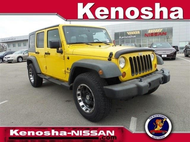 This 2008 Jeep Wrangler Unlimited X is listed on Carsforsale.com for $17,995 in Kenosha, WI. This vehicle includes Easy Folding SoftTop,6 Speakers,AM/FM CD/MP3 Radio,AM/FM radio,CD player,MP3 decoder,Radio data system,Air Conditioning,Power steering,Normal Duty Suspension,Traction control,4-Wheel Disc Brakes,ABS brakes,Dual front impact airbags,Front anti-roll bar,Integrated roll-over protection,Low tire pressure warning,Occupant sensing airbag,Rear anti-roll bar,Brake assist,...