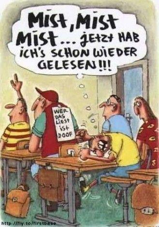 witzige Comic Gästebuch Bilder - wer_das_liest_ist_doof_mistmist_mist_jetzt_hab_ichs_schon_wieder_gelesen.jpg - GB Pics