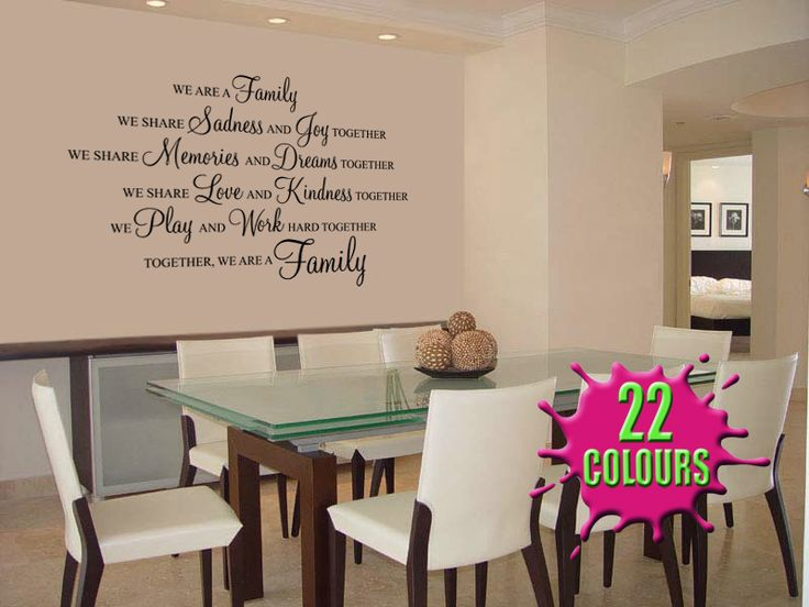 Family Tree Wall Decal Art | We Are A Family   Wall Decal Sticker Quote Wall