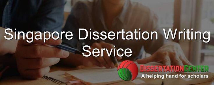 Dissertation help service in singapore