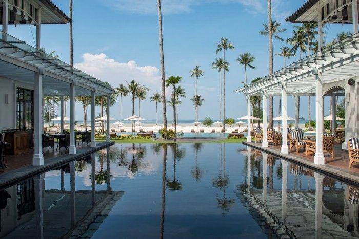 The Sanchaya Opening Bintan Indonesia - Water Feature #hotel #design