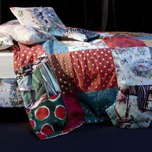 Jean Paul Gaultier Home quilt Multico