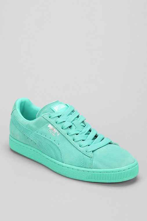 puma suede turquoise femme fatale britney song