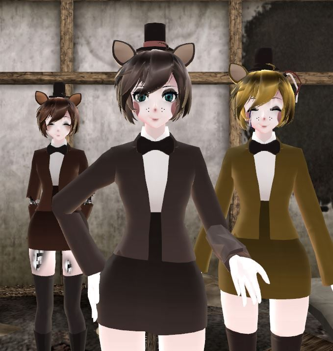 17 Best Images About Five Nights At Freddy's Girls Mmd