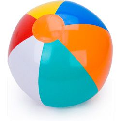 Les ballons de plage...