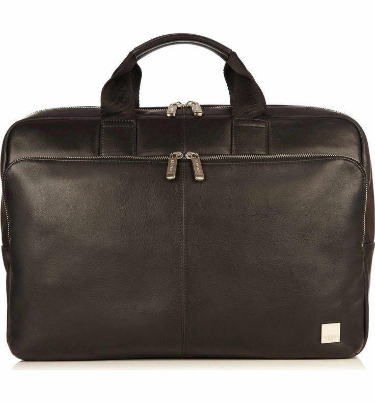 Main Image - KNOMO London Brompton Newberry Leather Briefcase