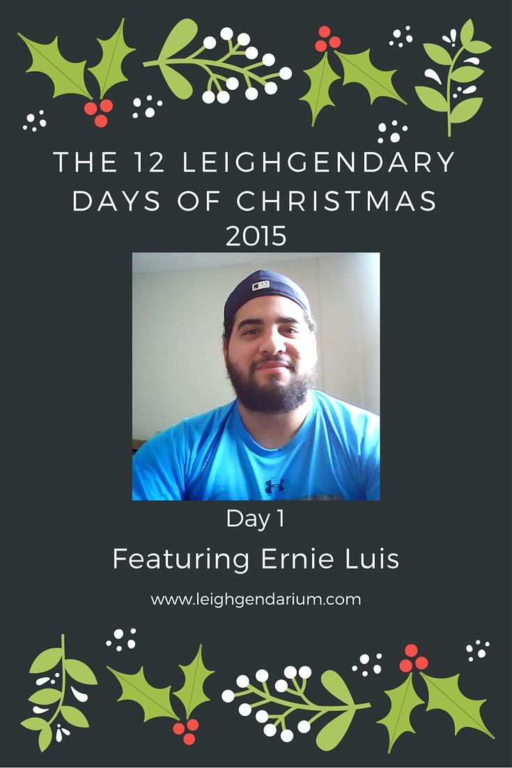 Special Christmas Author Interview with Ernie Luis.  Come learn about some of his favorite Christmas memories, movies, and music.  Did grandma really get run over by a  reindeer?