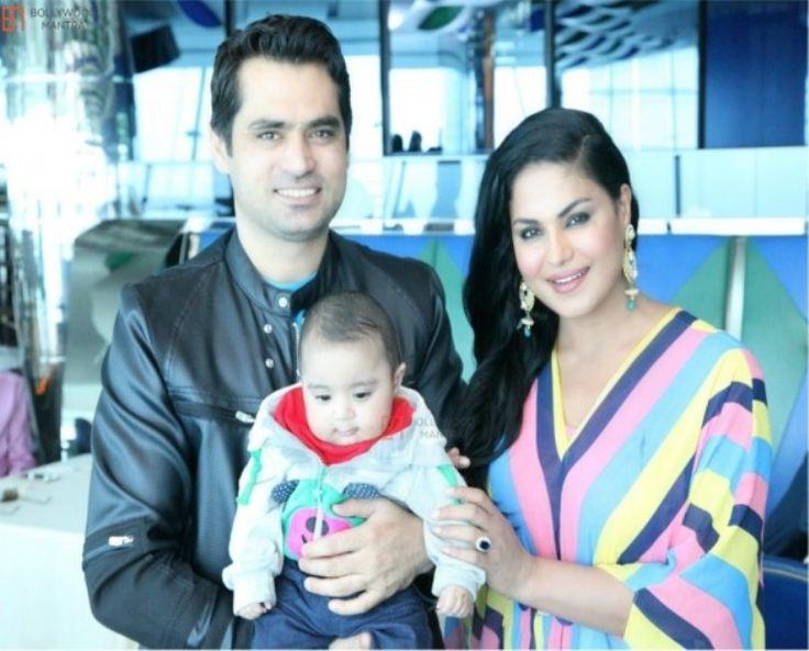 Pakistani Actress Veena Malik Birthday Party Images