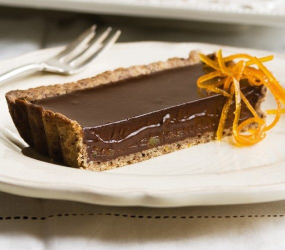Haigh's Dark Chocolate Orange Tart
