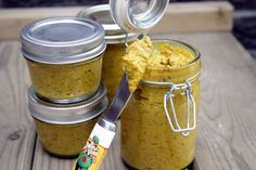 Sweet & Spicy Honey Mustard.  I have never tried making homemade mustard, but after reading this I think I'll give it a try.