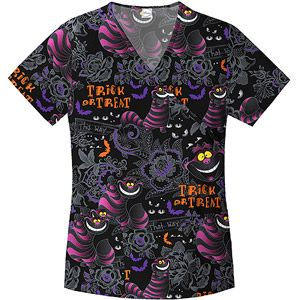 Cheshire Cat Mock Wrap Top - just got this for peds day!!