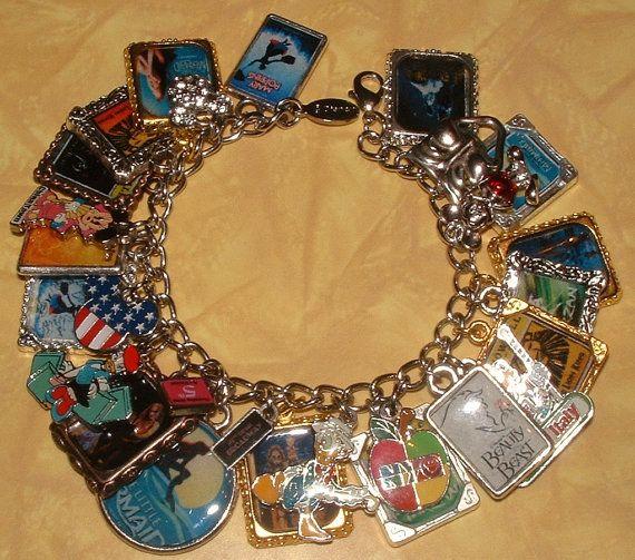 Disney Broadway charm bracelet! Want!!! Need!!!!!!!!!!!!!!!!!!!!!!!!!!!!!!!!