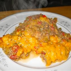 Baked Spaghetti Squash with Beef and Veggies. I made this last night ...