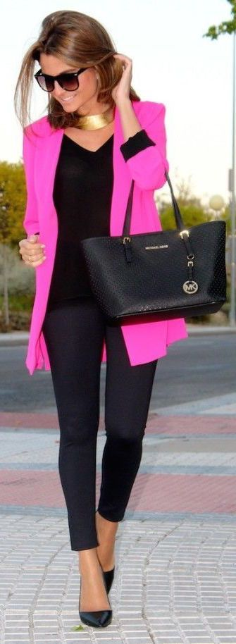 #street #fashion color pop pink @wachabuy