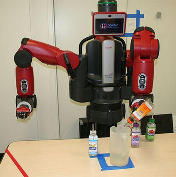 Промышленные роботы учатся повторять действия людей