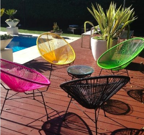 dreaming of a pool and these chairs!