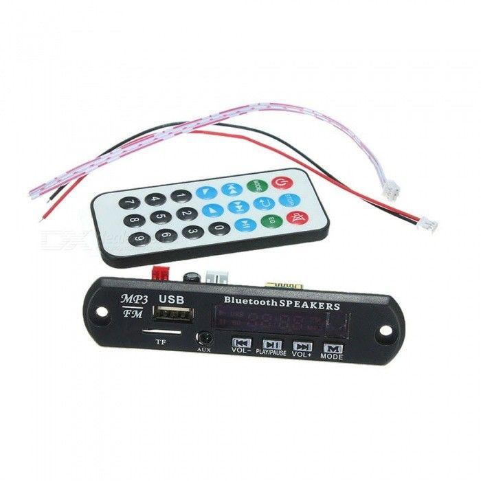 Bluetooth MP3 Decoding Board Module w/ SD, USB 2.0, FM - Black + White