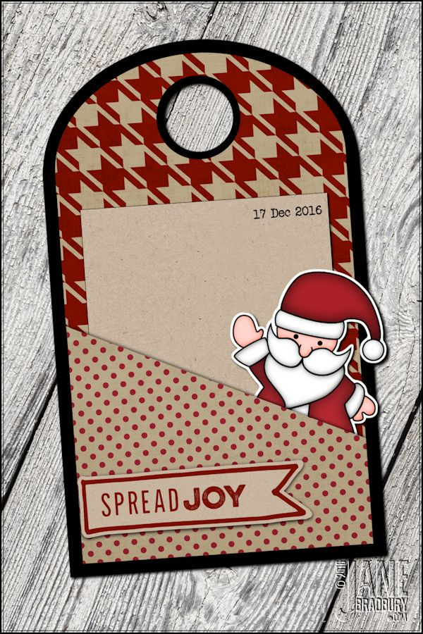 AED12Days2016 - using Spread Joy stamp #AED12Days2016