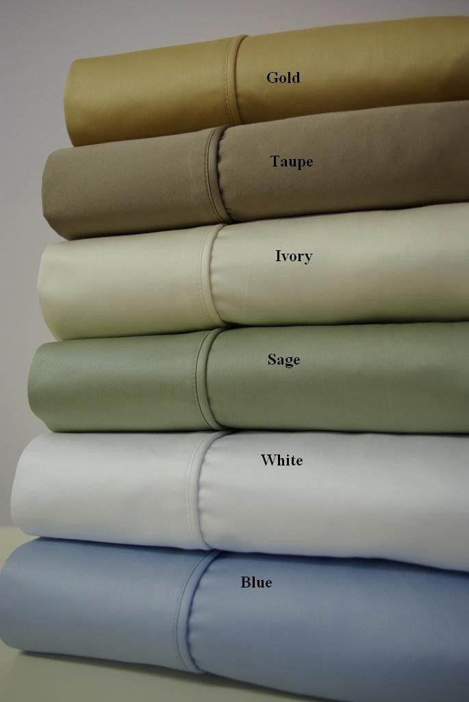 California King Solid 1000 Thread count 100% Egyptian cotton Sheet sets $129.99 www.scotts-sales.com