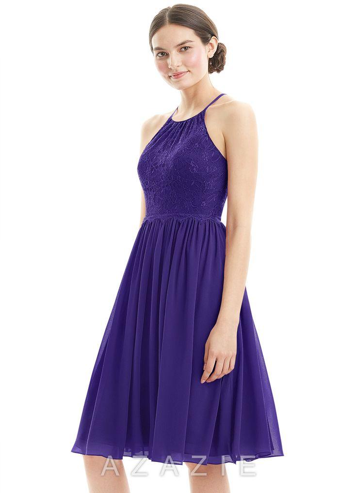 Hermosa Vestido De Novia Color Púrpura Reino Unido Foto - Vestido de ...