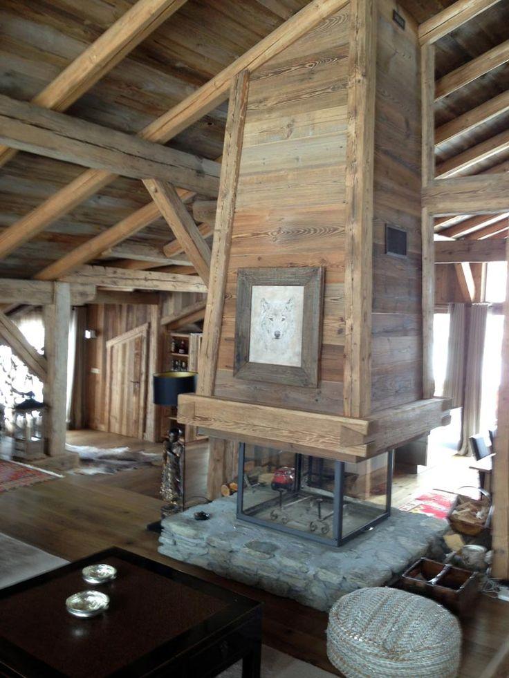 AMP pose de menuiserie vieux bois Sallanches Megève et Chamonix Haute-Savoie 74