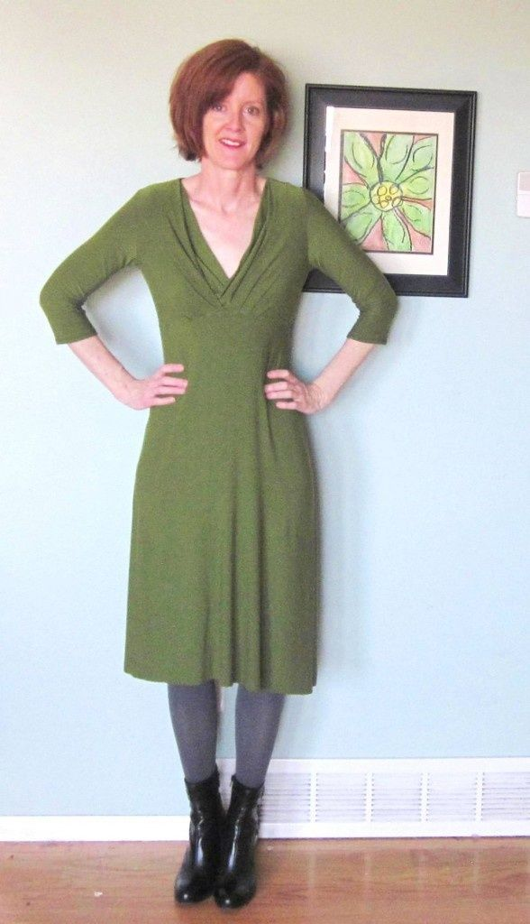 It is no secret, the Sante Fe Dress pattern is the favorite of the bloggers  who are participating in the Sew Knits With Confidence Blog tour.