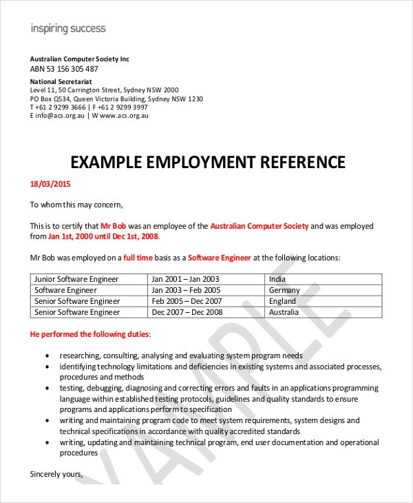 fe976ece137c04ff6f7f0f933891ffbf--company-names-first-names Template Cover Letter For Employment Reference Australia Refrence Choice Image Format Of Xapceo on