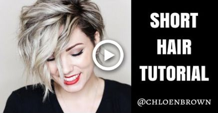 "SHORT HAIR TUTORIAL | Easy ""Natural"" Curls"