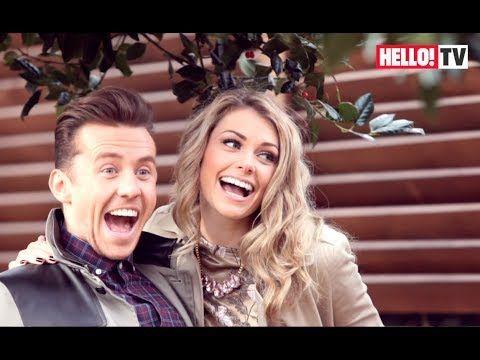 Behind the scenes of McFly's Danny Jones & fiancée Georgia Horsley's fun-filled HELLO! photo shoot - YouTube