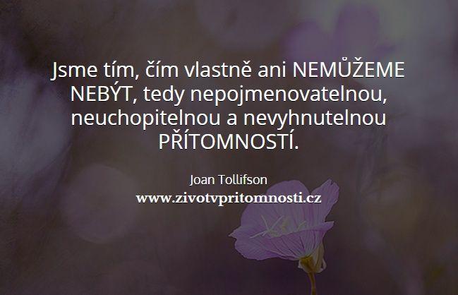 http://www.zivotvpritomnosti.cz/clanky/tag/joan-tollifson/