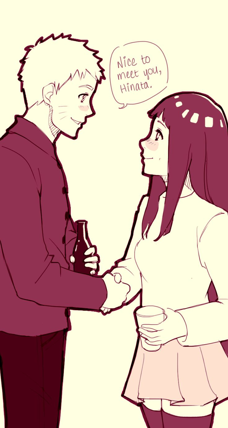 naruto and hinata first meet