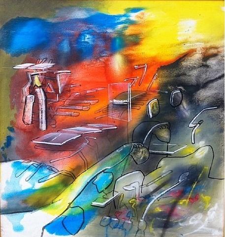 Roberto Matta. Pintor chileno