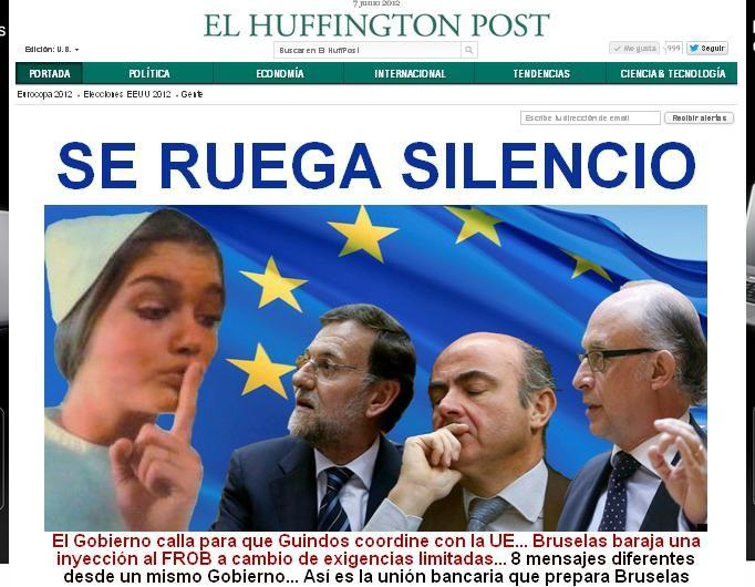 Y tal como se anunció, El Huffington Post ya está en línea (00:42  horas en España) . El encuentro empezo muy temprano, con la llegada de Arianna Huffington a Madrid.: El Huffington, Cover For, Una Portada, Is In, The Meeting, Huffington Posts, Español Ya, Primera Portada, In The