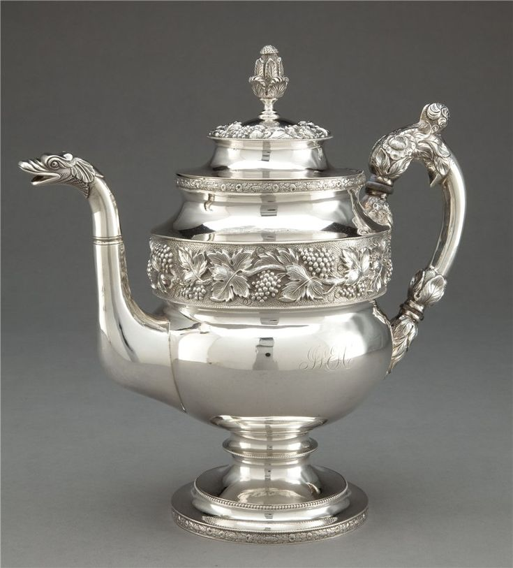silver tea