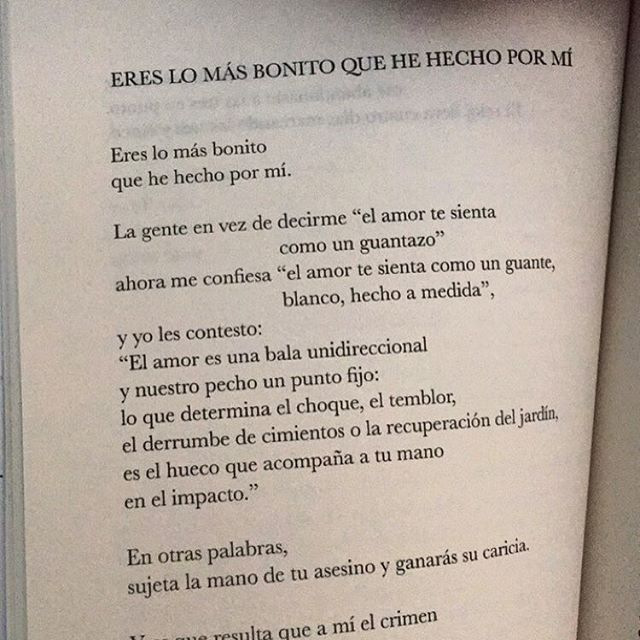 Eres lo más bonito que he hecho por mí #cementeriodelibros Autor: Elvira Sastre Libro: Baluarte