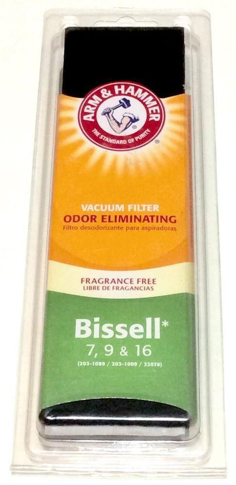 Arm & Hammer Vacuum Filter For Bissell 7 9 & 16 Odor Eliminating New #Bissell